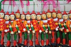 Pinocchio dolls Stock Photo