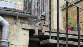 Pinocchio från den engelska byn Royaltyfri Fotografi