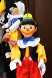 Pinocchio, la marioneta de madera italiana Fotos de archivo