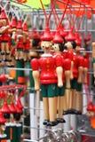 Pinocchio, la marionnette en bois italienne Photographie stock libre de droits
