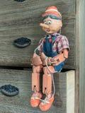 Pinocchio Marionette Stockfotos