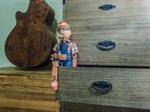 Pinocchio Marionette Stockbild