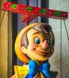 Pinocchio-Marionette Disney Stockfoto