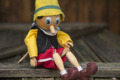 Pinocchio Royalty Free Stock Image