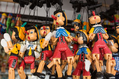 Pinocchio puppet dolls Stock Photography