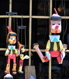 Pinocchio puppets Royalty Free Stock Photography