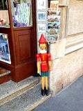 Pinocchio in Rome Stock Photos