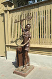 Pinocchio russe - Buratino Images stock