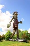 Pinocchio staty Arkivbilder