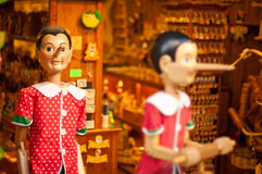 Pinocchio store Florence Stock Photo