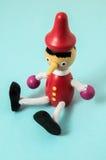 Pinocchio Toy Statue Royalty Free Stock Photo