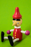 Pinocchio Toy Statue Royalty Free Stock Image