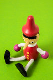 Pinocchio Toy Statue Royalty Free Stock Images