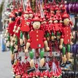 Pinocchio - typisk souvenir i Italien arkivbilder