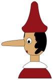 Pinocchio (vettore) Fotografie Stock Libere da Diritti