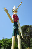 Pinocchio wooden italian marionette Royalty Free Stock Photography
