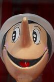 Pinocchio wooden puppet Royalty Free Stock Image
