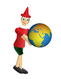 Pinocchio world Royalty Free Stock Image