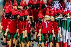 Pinocchiomarionetten Royalty-vrije Stock Foto
