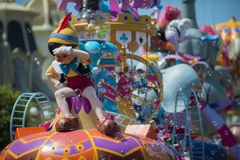 Pinocchion in parade close up Royalty Free Stock Photography
