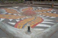 Ένα μνημείο για τα θύματα της εποχής Pinochet στοκ εικόνα
