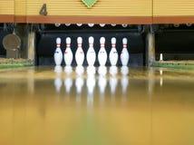Pinos de bowling Fotografia de Stock Royalty Free