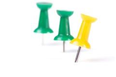Pinos de desenho em cores diferentes Imagem de Stock Royalty Free
