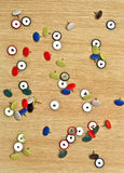 Pins. Stock Photography