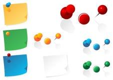 Pins stock illustration