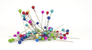 Pins with colored heads #1 Stock Photo