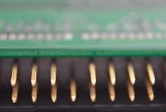 Pins of hard disk drive Royalty Free Stock Image