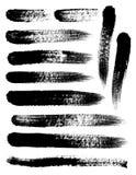 Pinsel-Anschläge Stockbilder