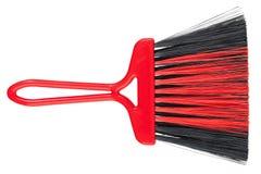 Pinsel für Reinigungsstaub von den Borsten Stockfoto
