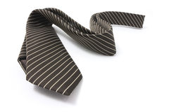 Pinstriped Necktie Royalty Free Stock Photography