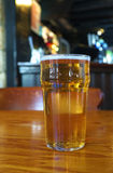 Pint of ale Royalty Free Stock Photos