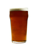 Pint of Beer. Just a pint of cold, refreshing beer. Cheers Stock Image