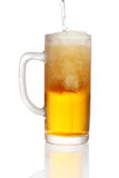 Pint of beer Royalty Free Stock Photos