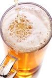 Pint Bier Stockfoto