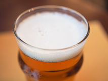 Pint of British ale beer Royalty Free Stock Images