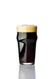 Pint dark beer Stock Photos