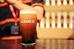 Pint of guinness Stock Image