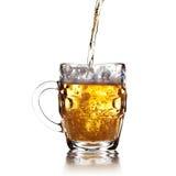 Pint mug of beer Stock Photography