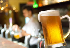Pint In Pub Stock Images