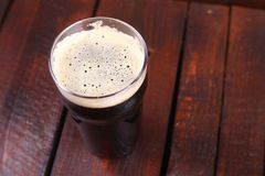 Pint of stout Stock Photography