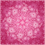 Pint valentines day doodle flowers background Stock Image