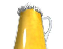 Pint van bier Royalty-vrije Stock Fotografie