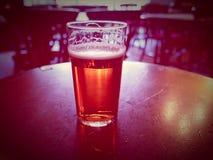 Pint van Bier Stock Afbeeldingen