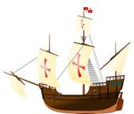 Pinta帆船 库存照片