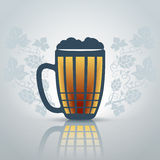 Pinta de cerveza libre illustration