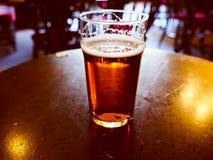 Pinta de cerveza Foto de archivo